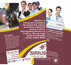 Sirius Training Leaflet